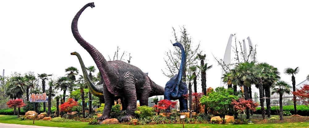常州恐龙园夜公园 常州恐龙园水上乐园 常州恐龙园水世界
