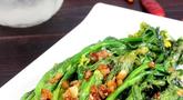 蒜蓉菜心:春季养生天天每人吃一斤蔬菜哟 清肠减肥