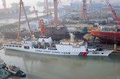 中国万吨海警船将主攻钓岛巡航