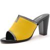 mux 迈思新款古风气质鱼嘴鞋 细高跟优雅女鞋