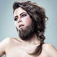 长胡子的女汉子 在现实生活中