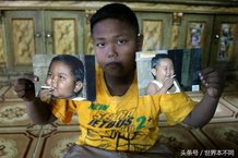 印尼男孩2岁时一天抽烟40只 如今形象健康是学霸