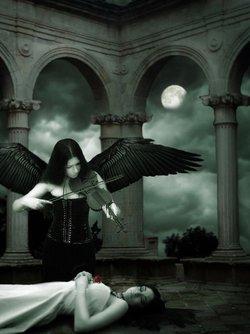 式死亡风格 编辑本段 哥特式死亡 哥特式死亡:苍白的脸,黑色的服饰图片