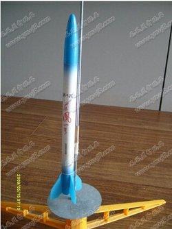 纸质火箭制作方法图解