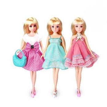 乐吉儿娃娃 女孩玩具 芭比娃娃洋娃娃