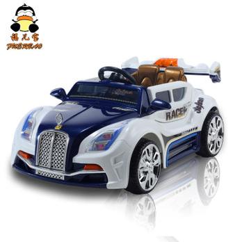 福儿宝遥控儿童玩具车可坐儿童电动车双驱电瓶小汽车