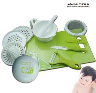 婴儿辅食料理母婴用品批发陶瓷刀具套餐宝宝餐