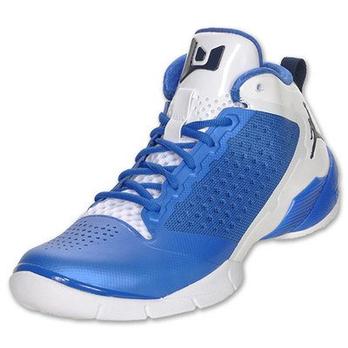 男士蓝色拼色高帮运动鞋(美国直发)