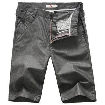 夏装竹纤维面料休闲中裤短裤