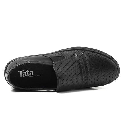 tata/他她2012年夏季黑色牛皮男鞋y2622d