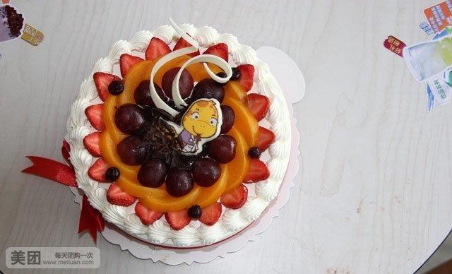 十二生肖蛋糕1个