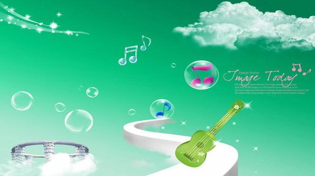 求助:关于音乐的唯美图片.有音乐符号或者吉他之类的