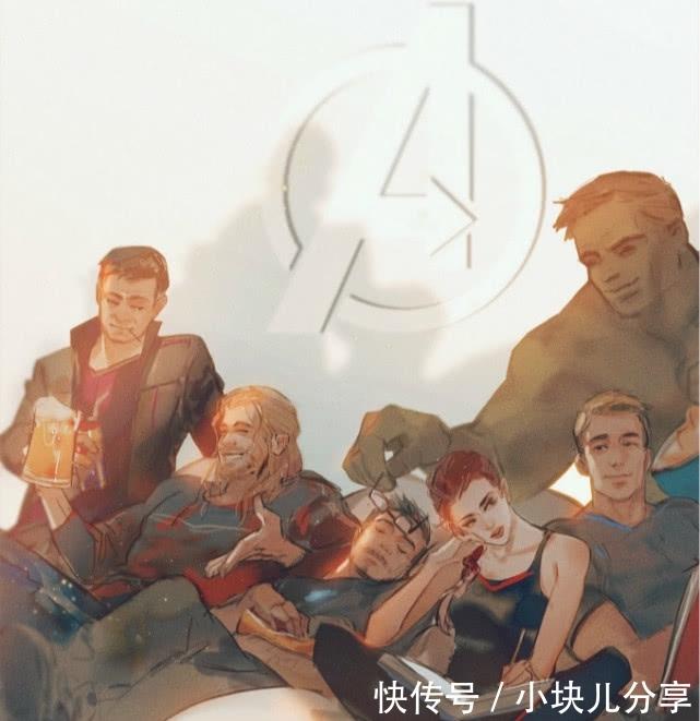漫威:最新《复仇者联盟》手绘版上线,影迷们关心的却是第五张图