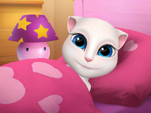 你将见到全新的可爱猫咪宝宝哦,领养你的专属安吉拉宝宝,为她梳洗打扮