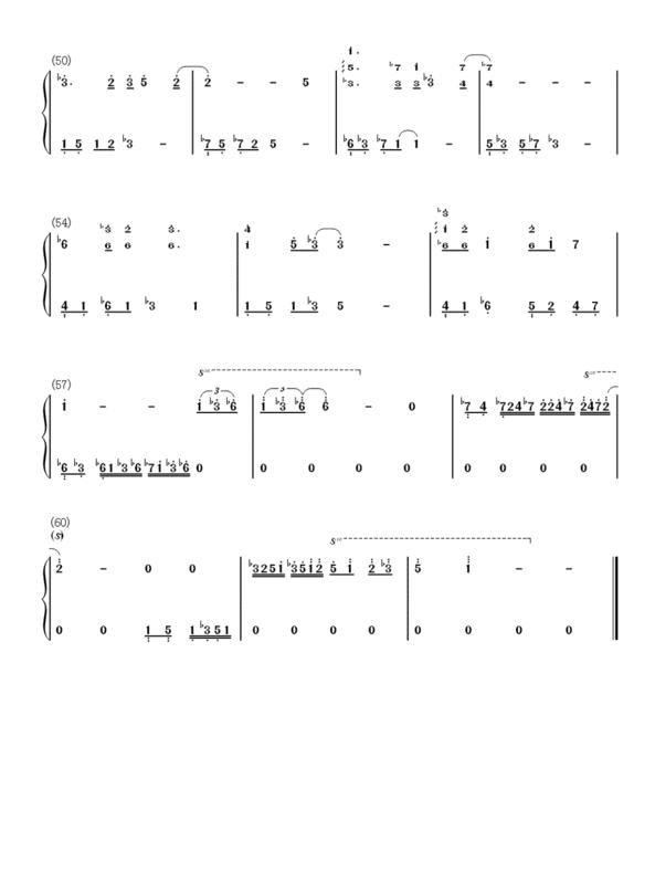 天空之城钢琴谱简谱完整版