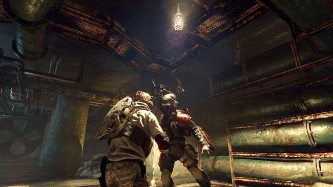 生化危机保护伞小队PC和PS4同服可以一起玩吗?
