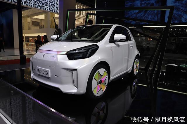 炫彩纯电微型车,奇点iC3将于2021年第一季度上市