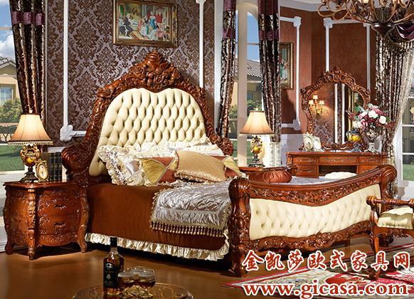 在国内较为有名的欧式家具品牌有金凯莎图片