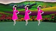 彩蝶舞,鸿雁飞《醉在草原爱一回》,流行草原情歌广场舞