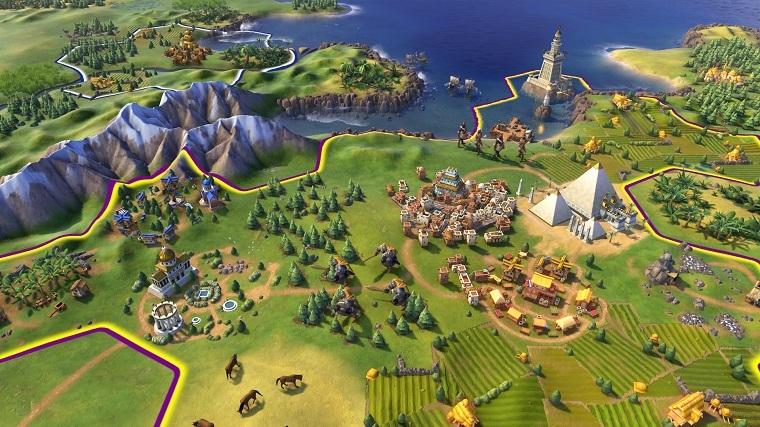 《文明6》游戏截图