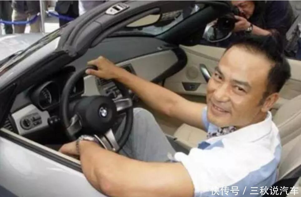 任达华第一辆车,马力34匹,23岁贷款买的,没花家里一分钱!