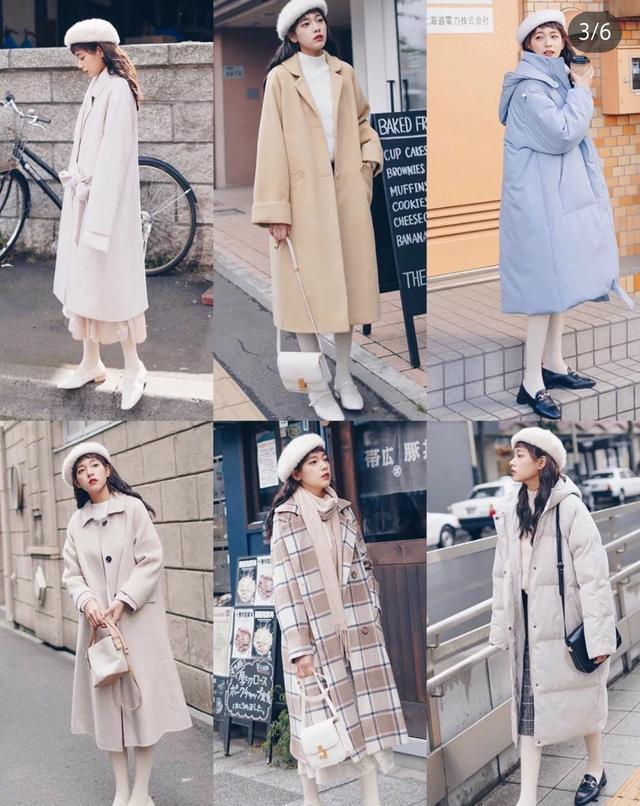 模特毛衣+大衣裙a模特大方,适合所有人穿百度毛呢图情趣内衣女图片搜索图片