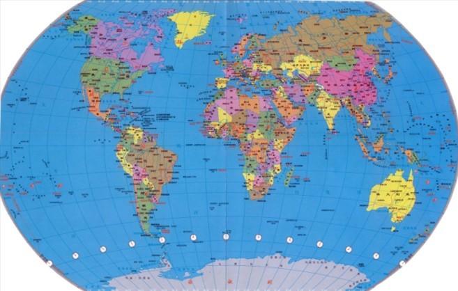 世界地图_360百科