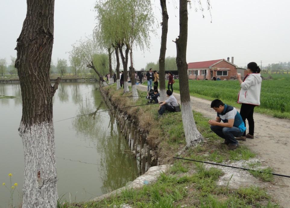 别墅群效果图 河边