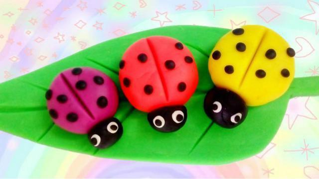 七星瓢虫怎么画,七星瓢虫简笔画彩色