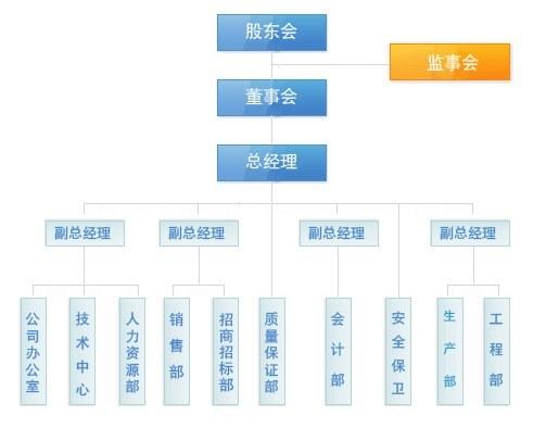 公司整体结构图示
