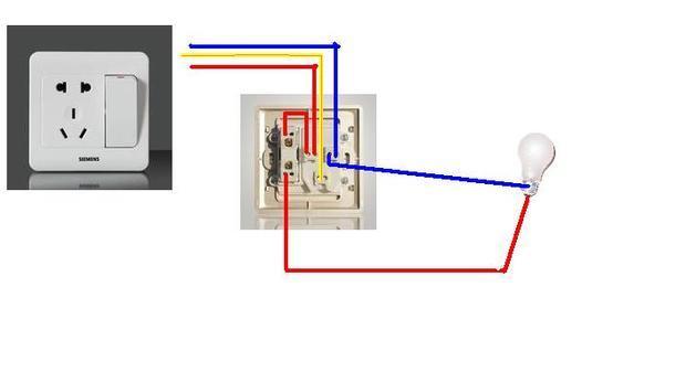 单开换成一开五孔如何接线