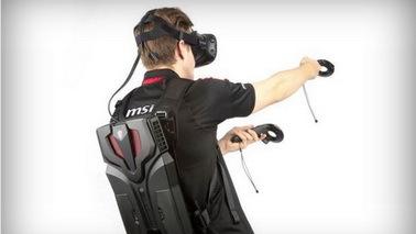 微星再推VR背包电脑VR One 采用帕斯卡架构显卡