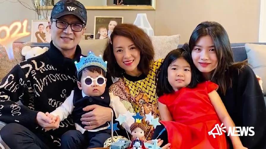 章子怡汪峰庆祝儿子一岁