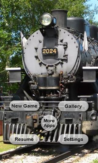 蒸汽机车图片
