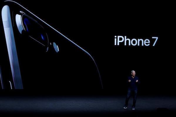 iPhone 7发布会现场