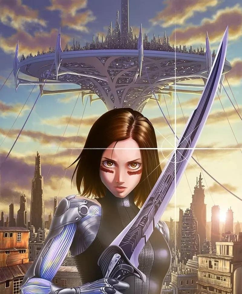 《阿丽塔:战斗天使》首日票房堪堪破亿,剧情的