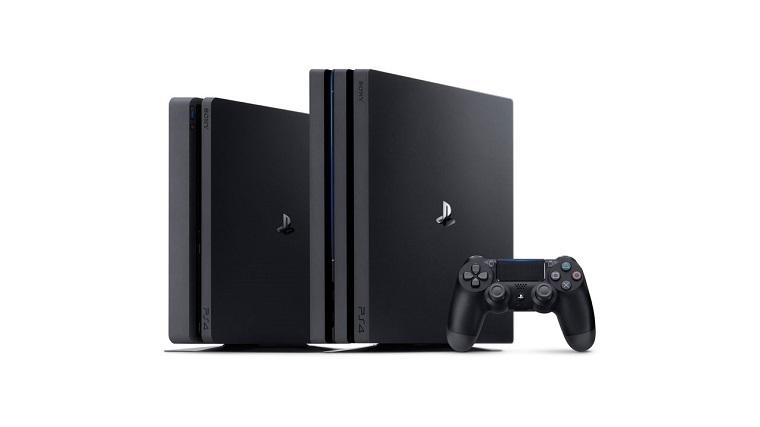 索尼PS4 Pro和PS4