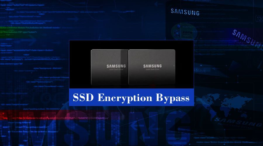 多款SSD硬件加密绕过漏洞预警