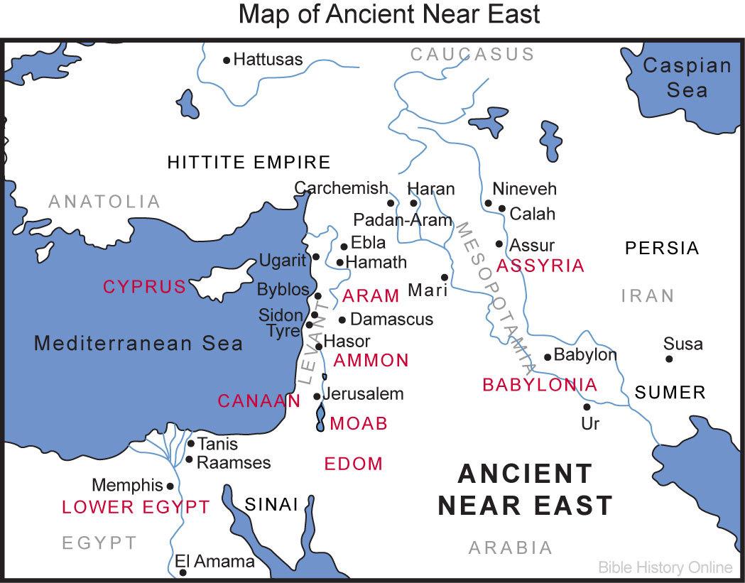 亚洲中东地区地图