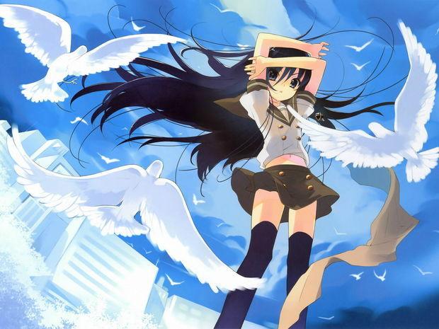 nickcen:好像叫日本动漫中常用的场景,开头是白鸽飞舞,吐槽很给力这种类型的挺多的,自己看链接吧我想找一部动漫,是晚上在看直播的时候无意看到的,说一个妖怪爱上人类最后跟人类都变成了白鸽.《怪Ayakashi》,是三个独立的故事组成的,分别是四谷怪谈、天守物语和化猫,你说的是天守物语。。。其实怪化猫挺好看的,是《怪Ayakashi》中最受好评的,获得意外好评的插话作品『化猫』,其工作人员再度结集在一起,创作出12集的《怪-化猫》怪异之说。粉色的横幅和装饰的白鸽粉色的横幅和装饰的白鸽,卡通人