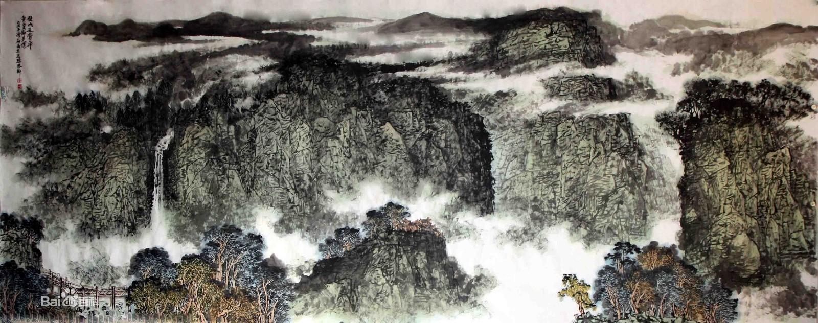 五岳——泰山、华山、衡山、恒山、嵩山