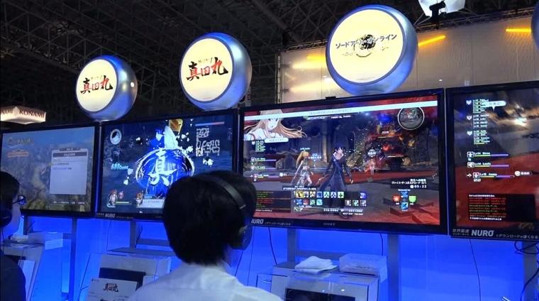 TGS 2016:《刀剑神域:虚空领悟》现场试玩视频