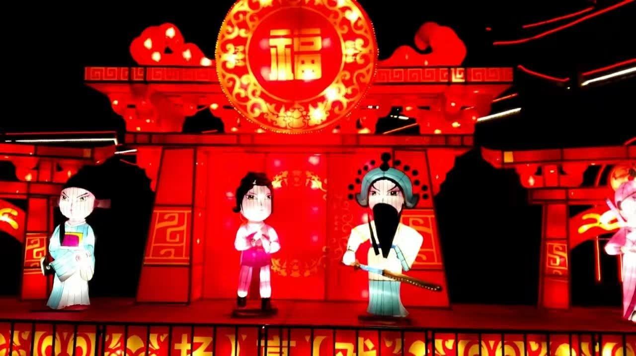 河南三门峡:华灯璀璨 流光溢彩陕州城 - 秦岭的风 - 秦岭的风