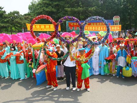 定陶县孟海镇是远近闻名的戏曲之乡