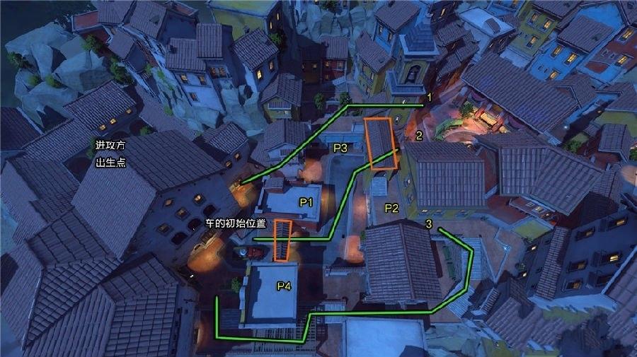 《守望先锋》推车图多拉多地图路线攻略