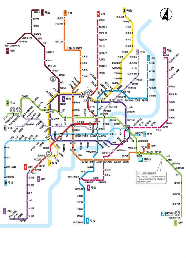 上海地�_上海地铁线路图