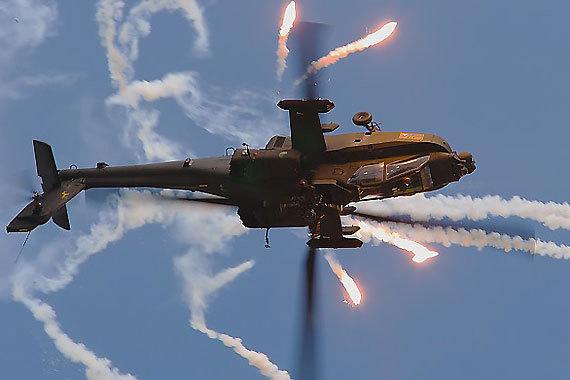 (图)阿帕奇攻击直升机