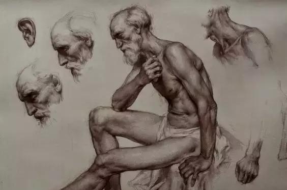 俄罗斯素描画家怎么处理素描关系 ART 第10张