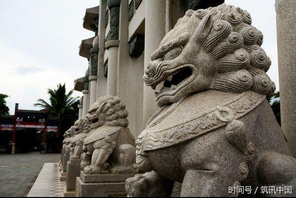 所谓无规矩不成方圆,中国风水更是有一整套的原则,别看门口前的一对