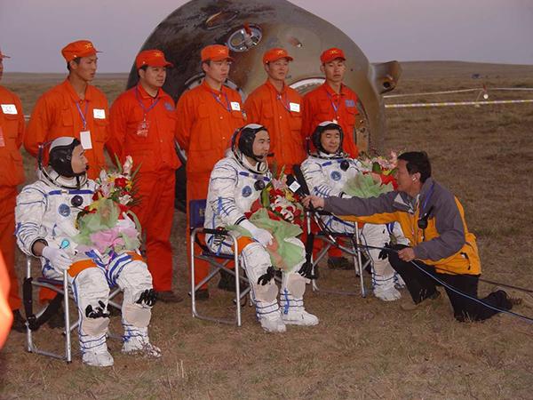 """中国载人航天史上的6次""""告别""""和""""重逢"""" - 一统江山 - 一统江山的博客"""